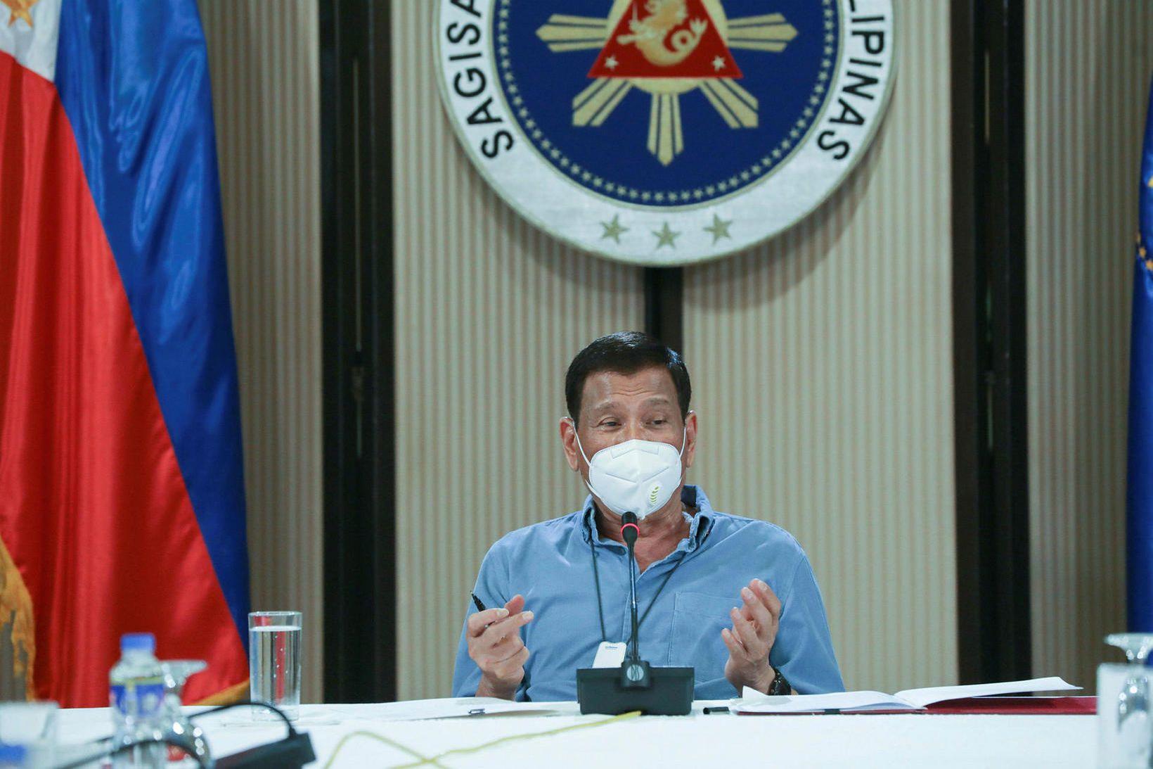Forseti Filippseyja, Rodrigo Duterte.