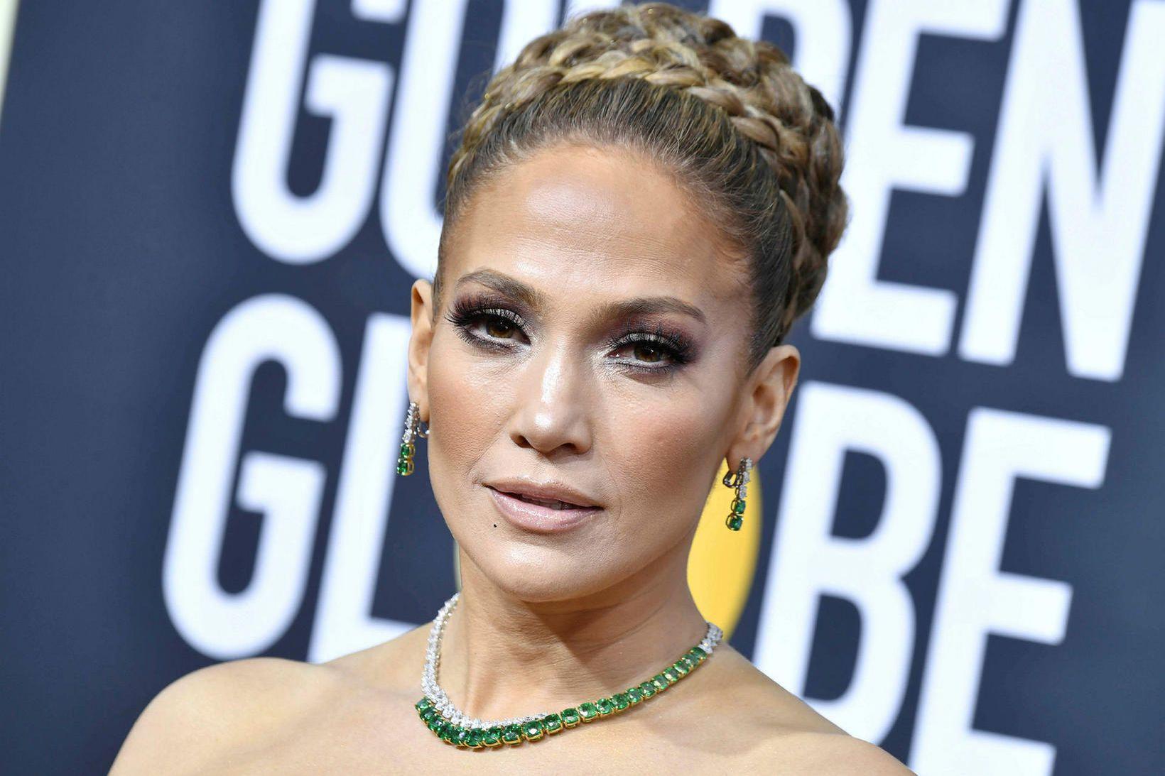 Jennifer Lopez var einn af framleiðendum kvikmyndarinnar Hustlers en hún …