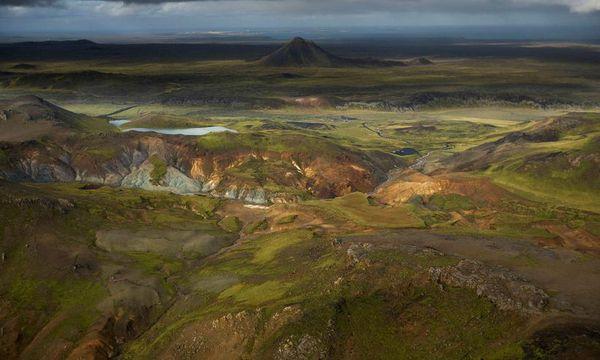 The landscape at Reykjarnes Peninsula is a bit alien.