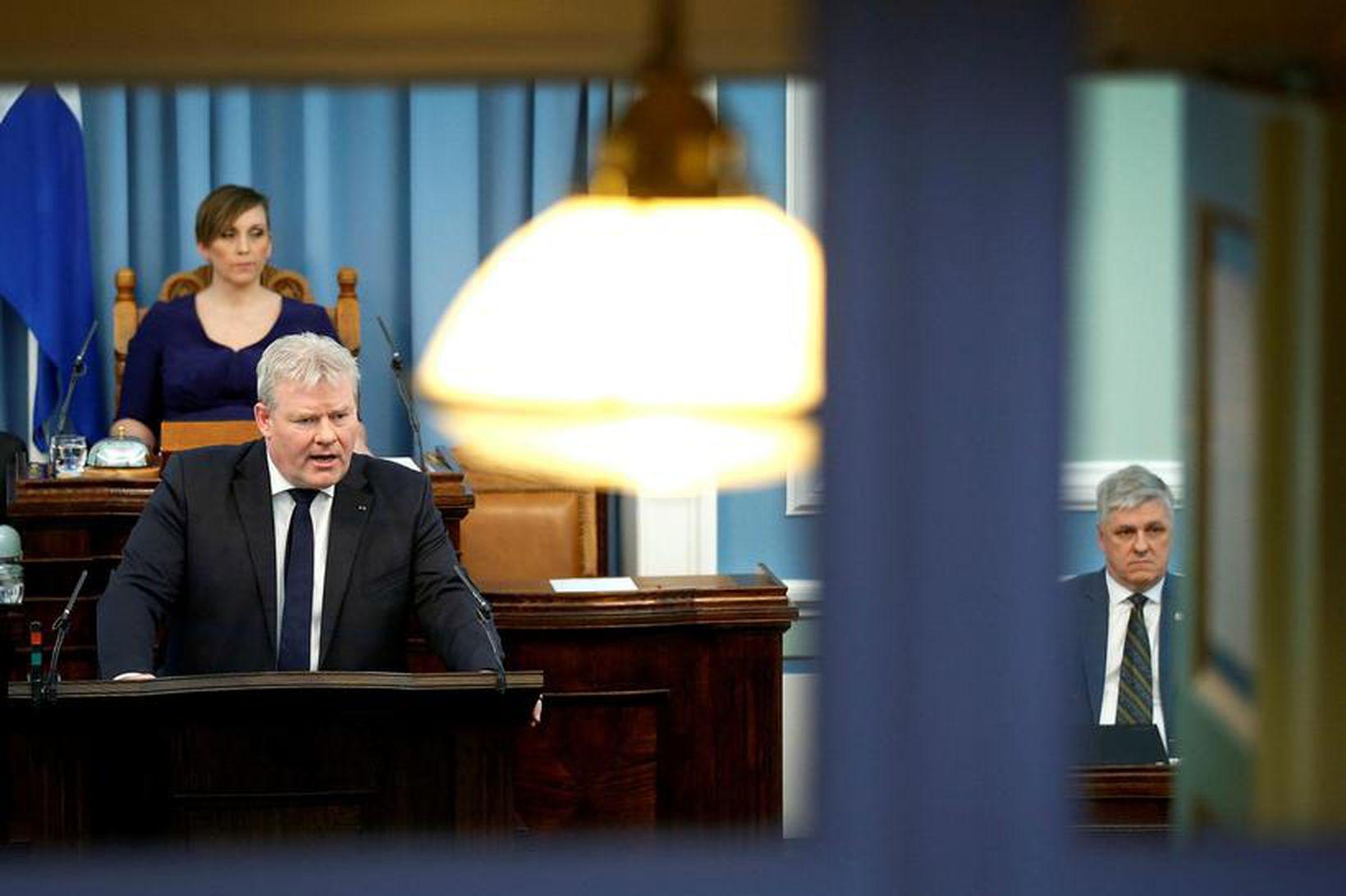 Sigurður Ingi Jóhannsson þingmaður Framsóknarflokksins.