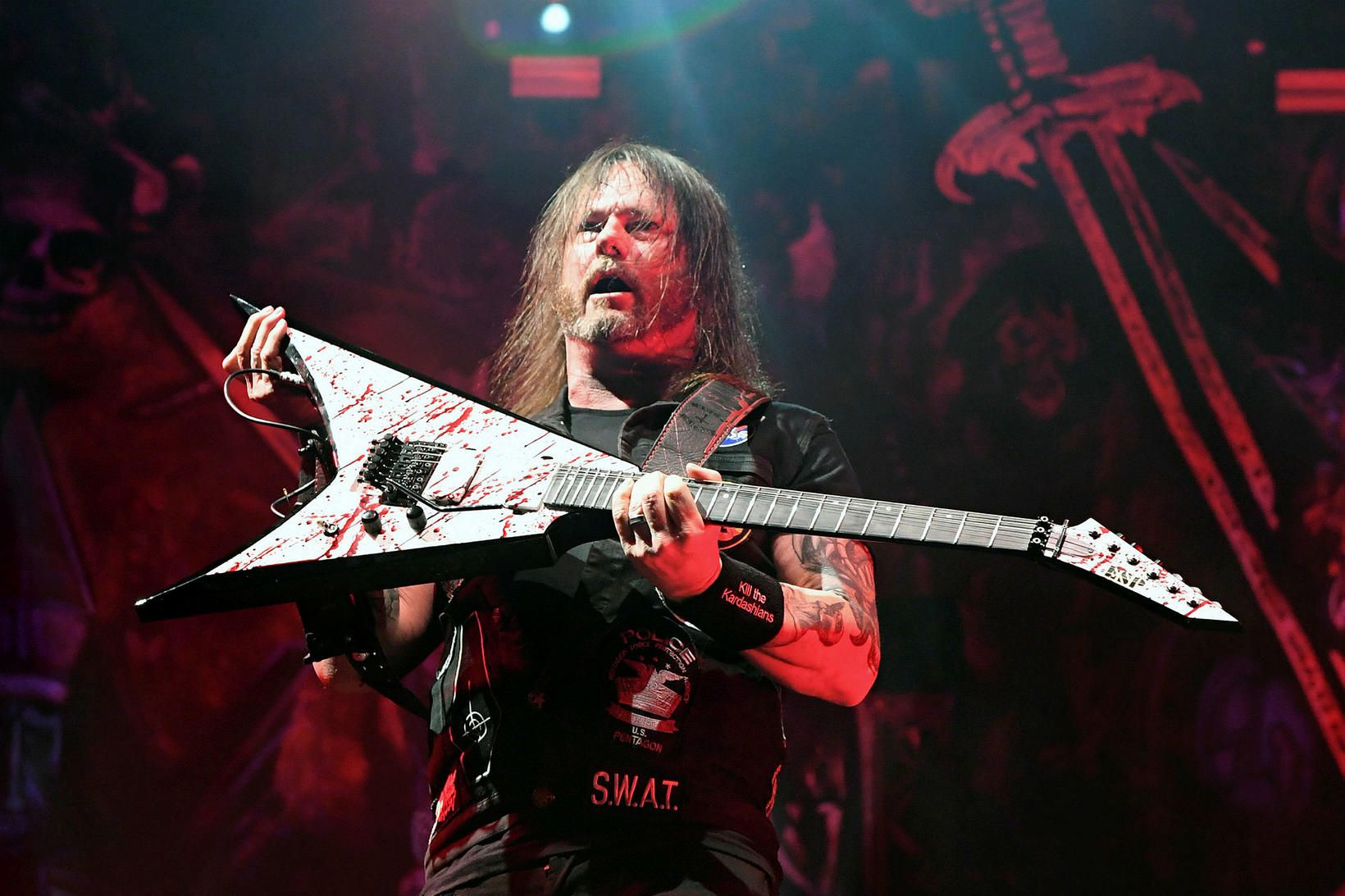 Gary Holt á tónleikum með Slayer.