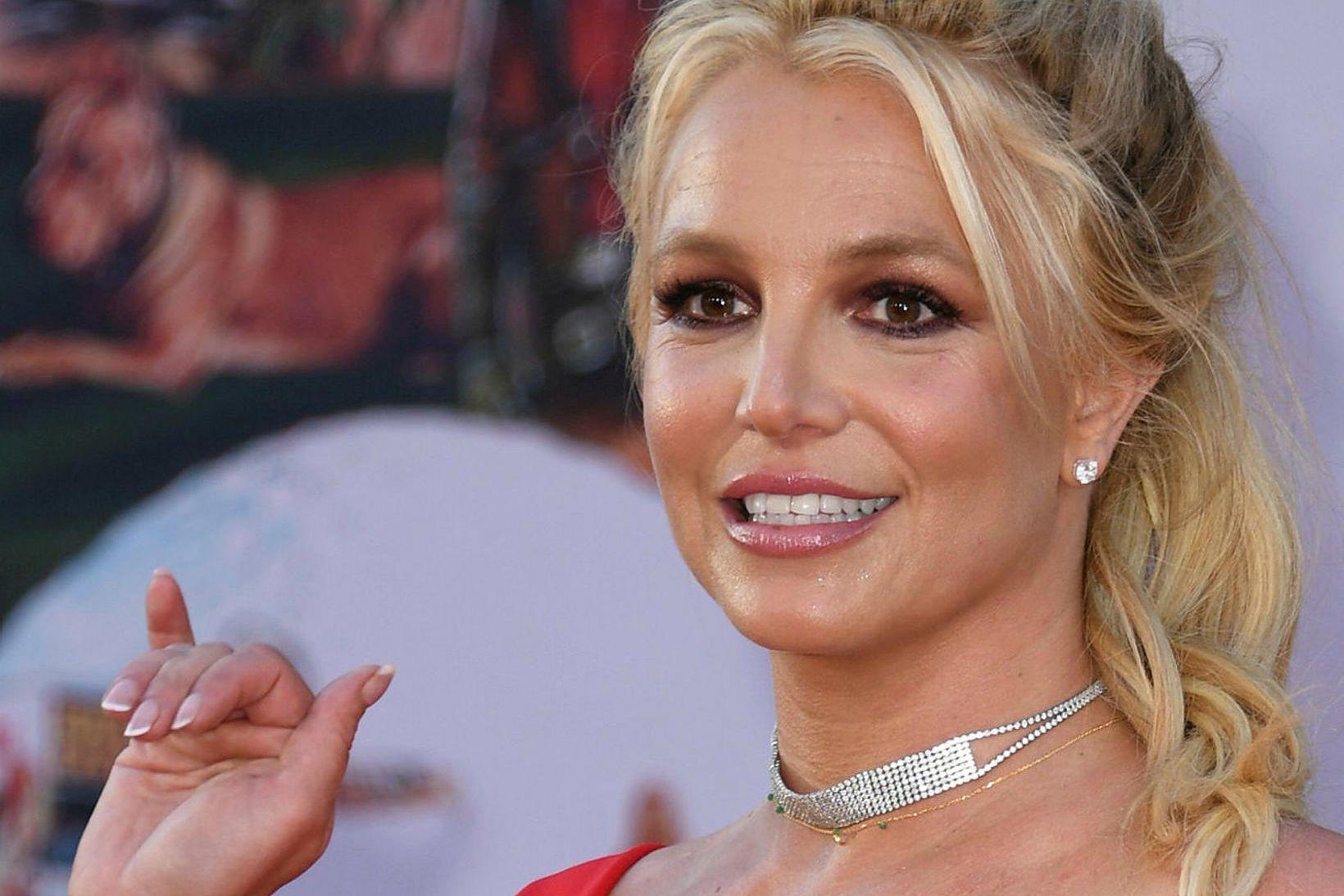 Britney Spears er ein frægasta söngkona heims.