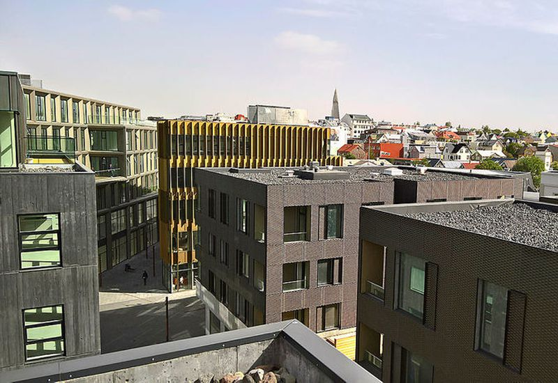 Hafnartorg offers the most expensive apartments in Reykjavík.