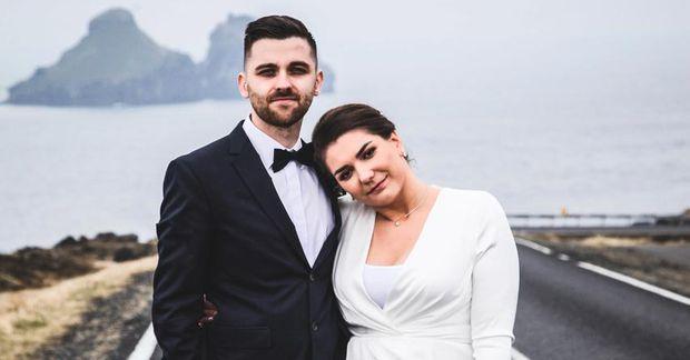 Klaudia Beata Wanecka og Marcin Wanecki vildu gifta sig á aðeins annan hátt en venjulega.