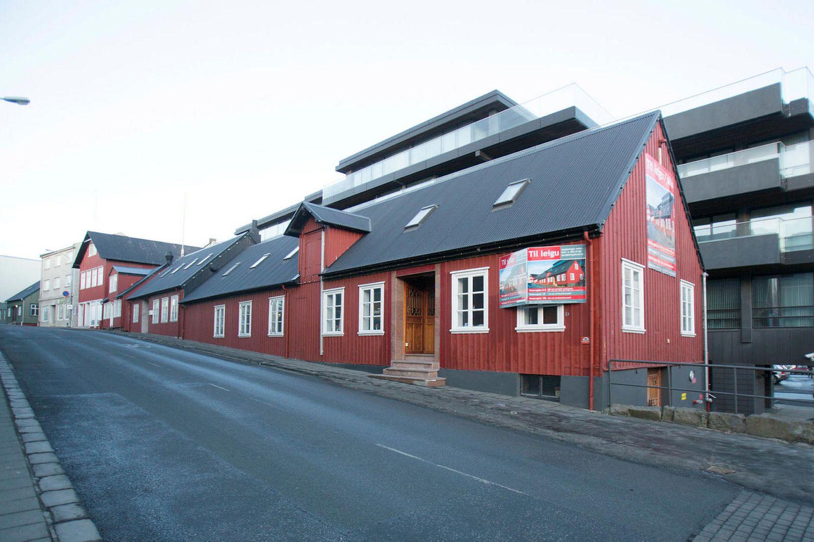 Veitingahúsið Naust var í áratugi rekið í þessu sögufræga húsi.