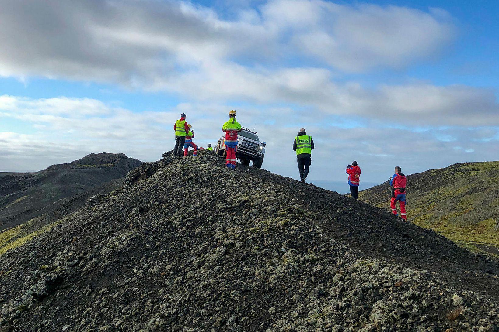Björgunarsveitin Þorbjörn á Reykjanesskaga.