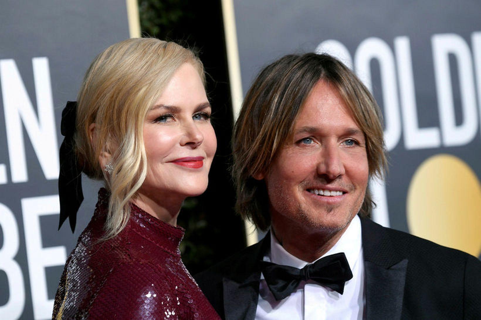 Nicole Kidman og Keith Urban.