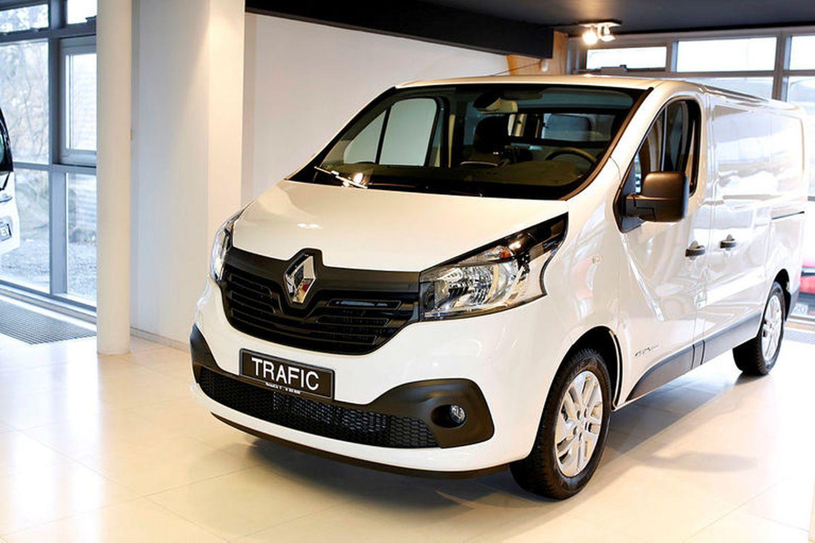 Renault Trafic atvinnubíll.
