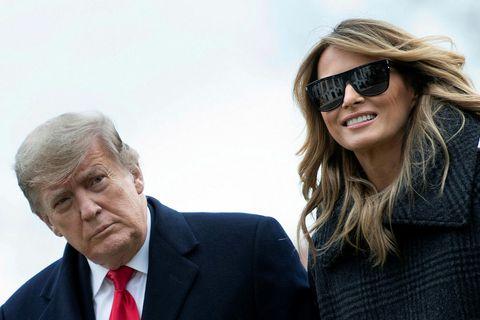 Melania Trump hefur notið þess að slaka á í Flórída síðustu vikur.