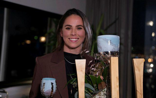 Sara Björk Gunnarsdóttir er íþróttamaður ársins 2020
