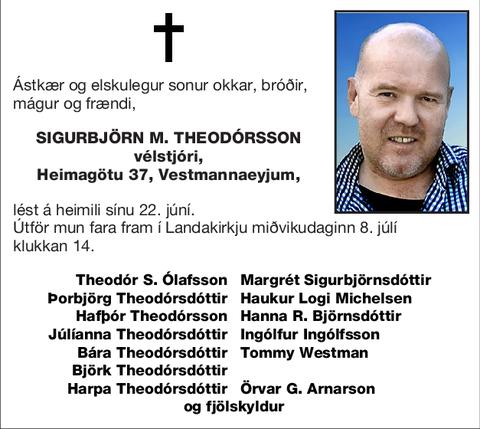 Sigurbjörn M. Theodórsson