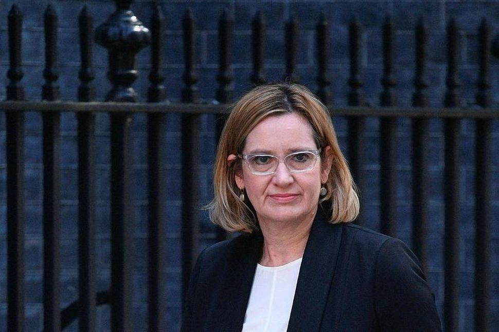Amber Rudd, innanríkisráðherra Bretlands.