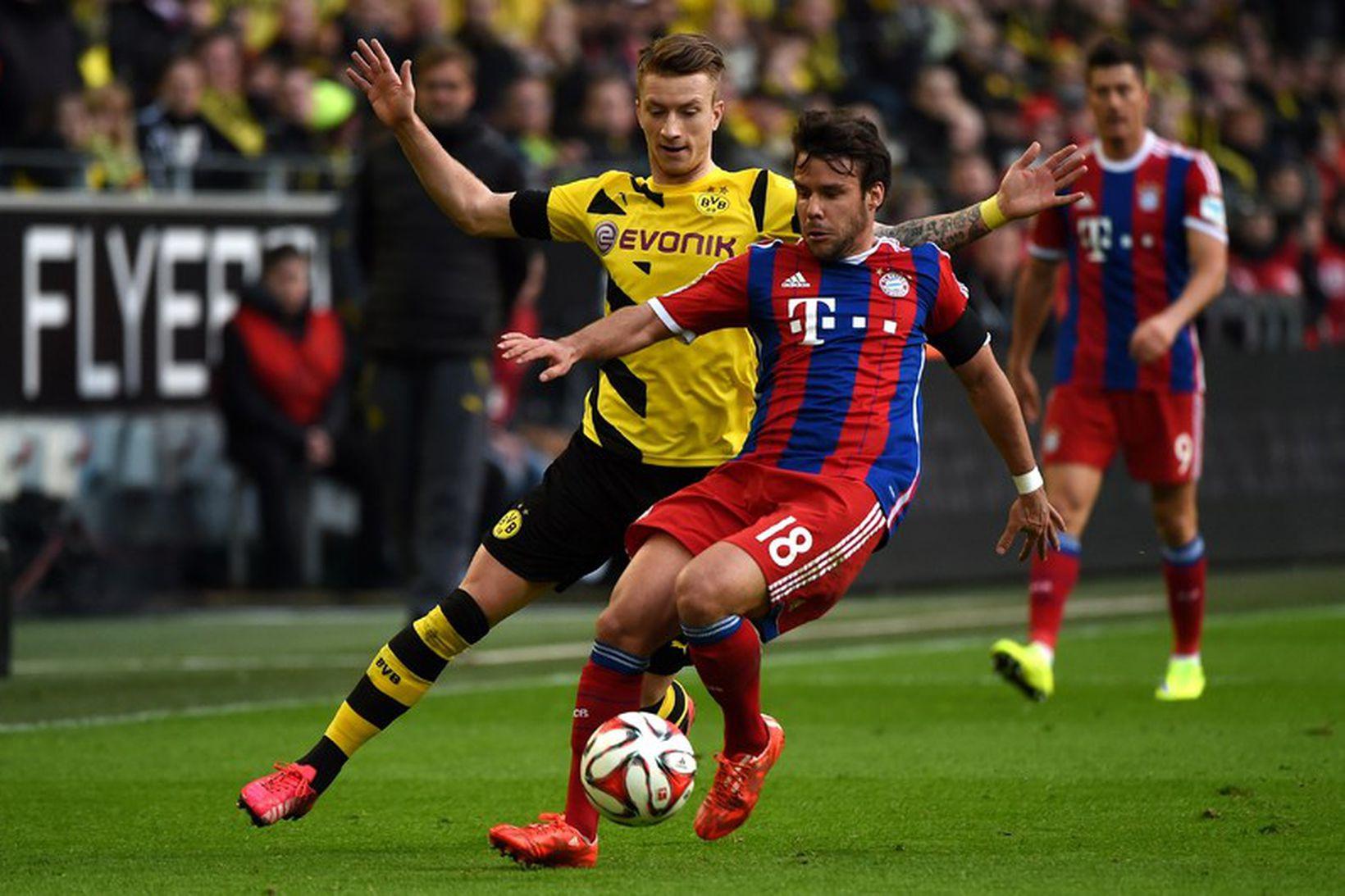 Bayern München og Borussia Dortmund eru harðir keppinautar en sýna …