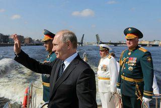 Vladimír Pútín.