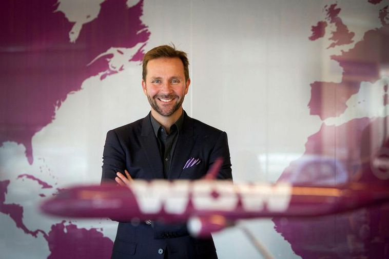 Skúli Mogensen, CEO of WOW air.