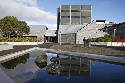 Seðlabankinn, The Central Bank of Iceland.