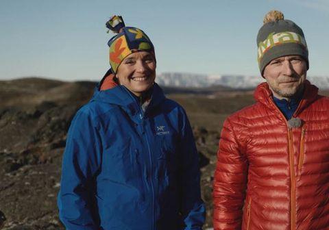 Brynhildur Ólafsdóttir og Róbert Marshall