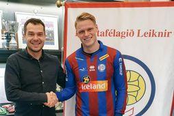 Dagur Austmann Hilmarsson skrifaði undir tveggja ára samning við Leikni.