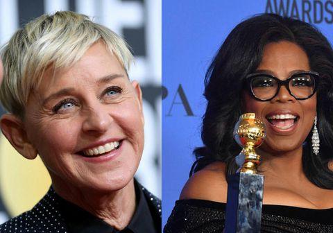 Oprah stríddi vinkonu sinni í viðtali sem hún tók við hana.