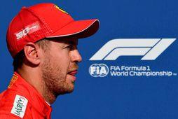 Sebastian Vettel í Spa-Francorchamps.