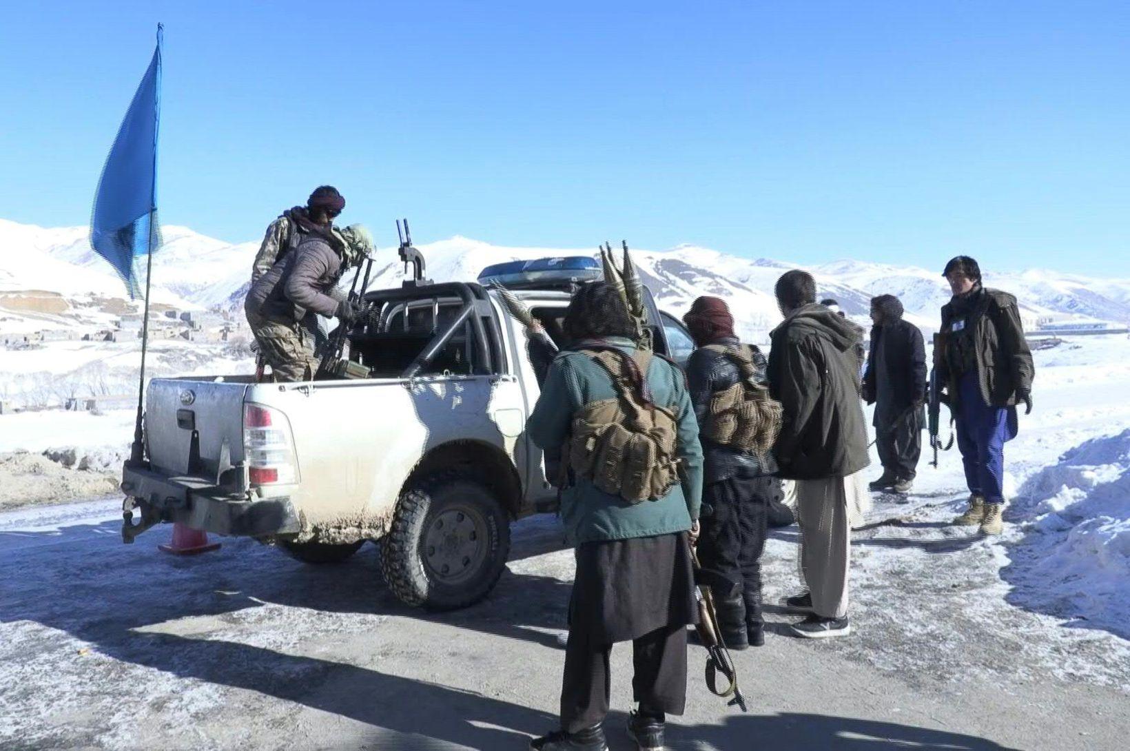Hasarar í Afganistan vígbúast