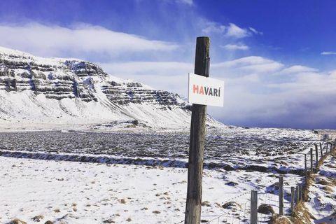 Havarí is located in the remote fjord of Berufjörður in East Iceland.