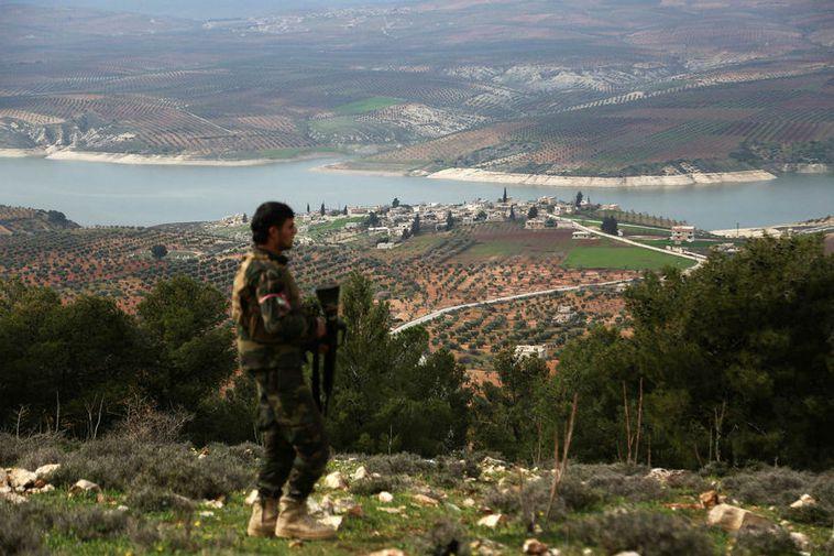 Afrin in Syria.