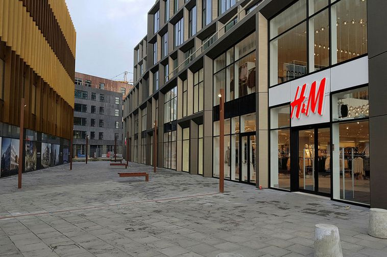 Kolagata, partly ready as it's used for the entry way to the new H&M store.