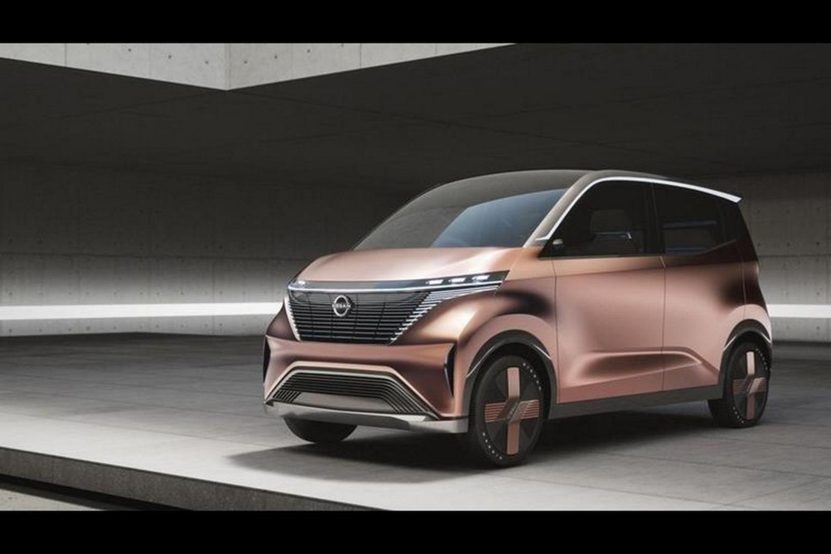 Nissan iMk concept er sýndur í Tókýó.