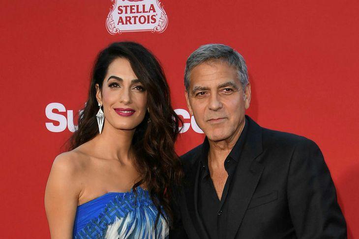 Amal og George Clooney eru bestu vinir aðal.