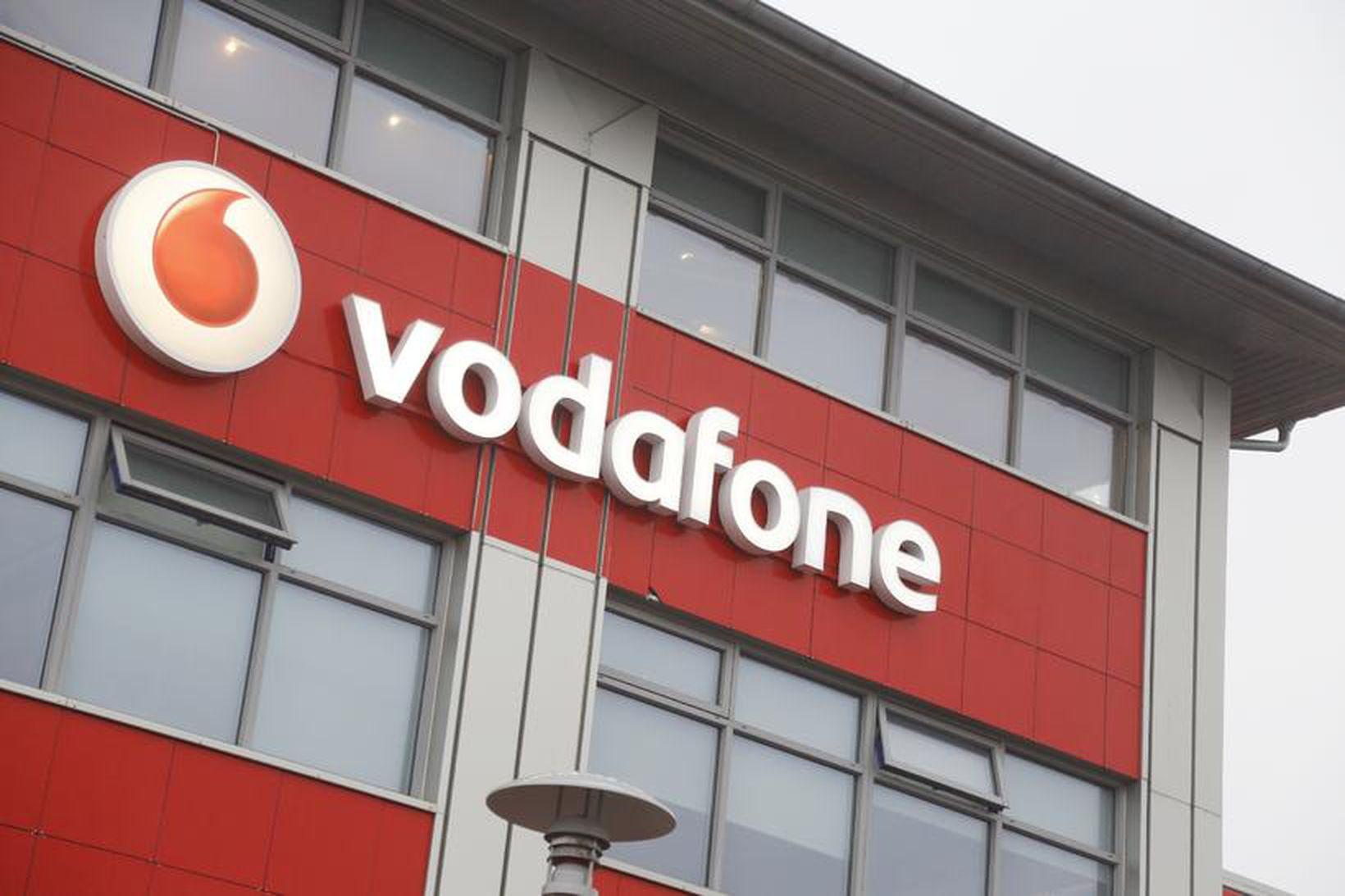 Vodafone biður alla sem málið snertir afsökunar.