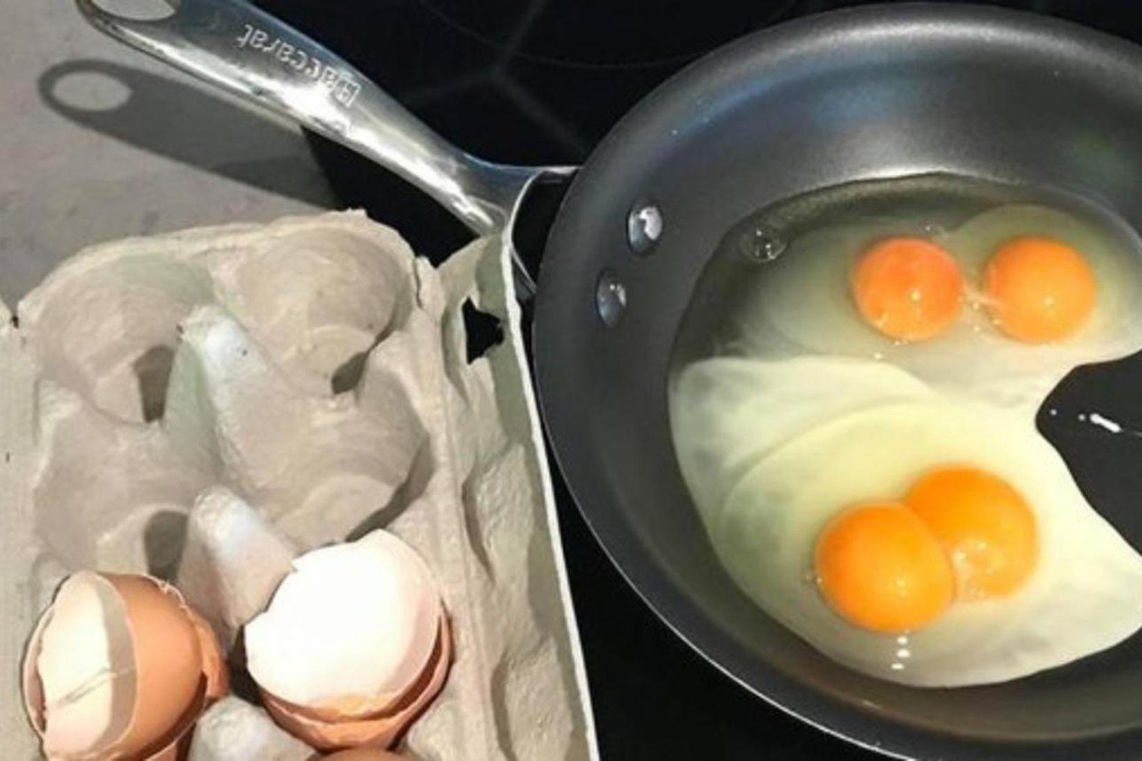 Hefur þú fengið tvær rauður úr einu eggi?
