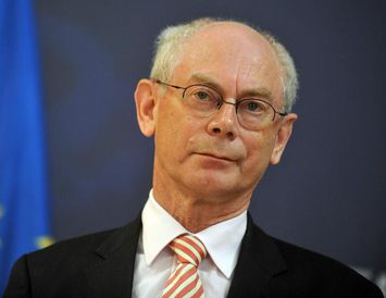 Herman van Rompuy, forseti leiðtogaráðs ESB.