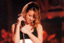 Mariah Carey birti mynd af sér á samfélagsmiðlum.
