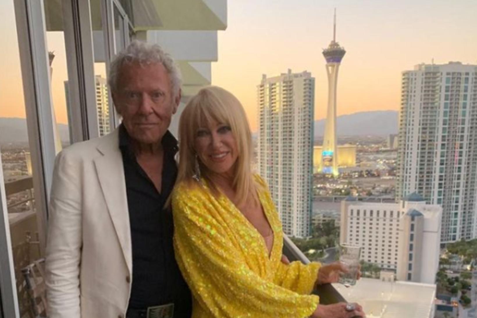 Suzanne Somers og Alan Hamel eru í fullu fjöri.
