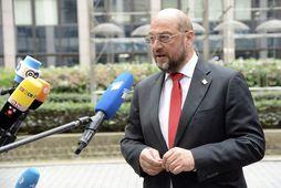 Martin Schulz, forseti Evrópuþingsins.