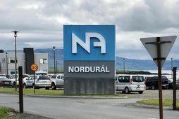 Norðurál er með starfsemi á Grundartanga.