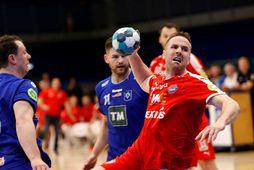 Stefán Rafn Sigurmannsson í leik gegn Stjörnunni.