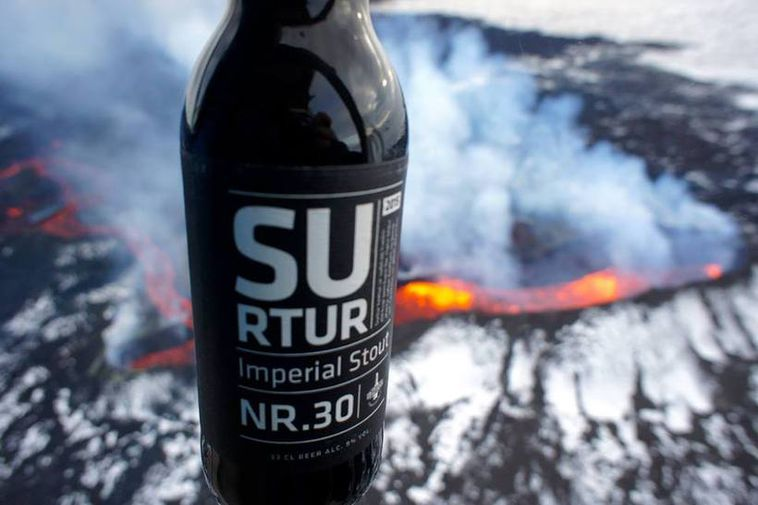 Surtur nr. 30 is an acclaimed Icelandic Stout