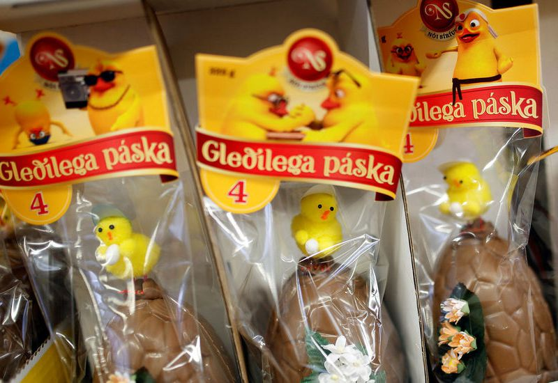 Icelandic Easter eggs are slightly different to the ones found in other parts of Europe or the US.