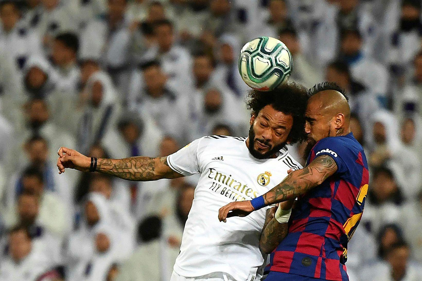 Barcelona og Real Madrid fá mestar tekjur allra knattspyrnufélaga.