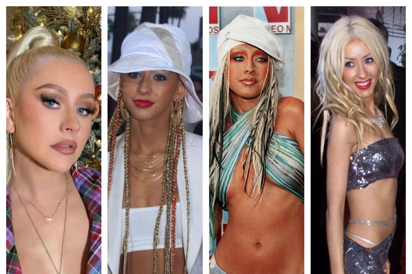 Christina Aguilera er orðin fertug. Hún var ein frægasta starna …