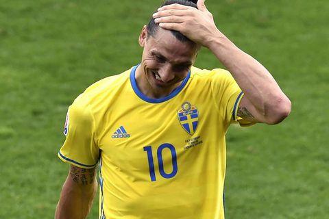 Swedish star Zlatan Ibrahimovic.