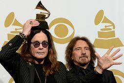 Ozzy Osbourne greindist með Parkinsonssjúkdóminn í febrúar í fyrra.