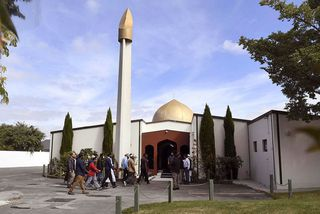Al Noor-moskan í Christchurch.