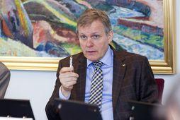 Jón Gunnarsson, formaður atvinnuveganefndar Alþingis.