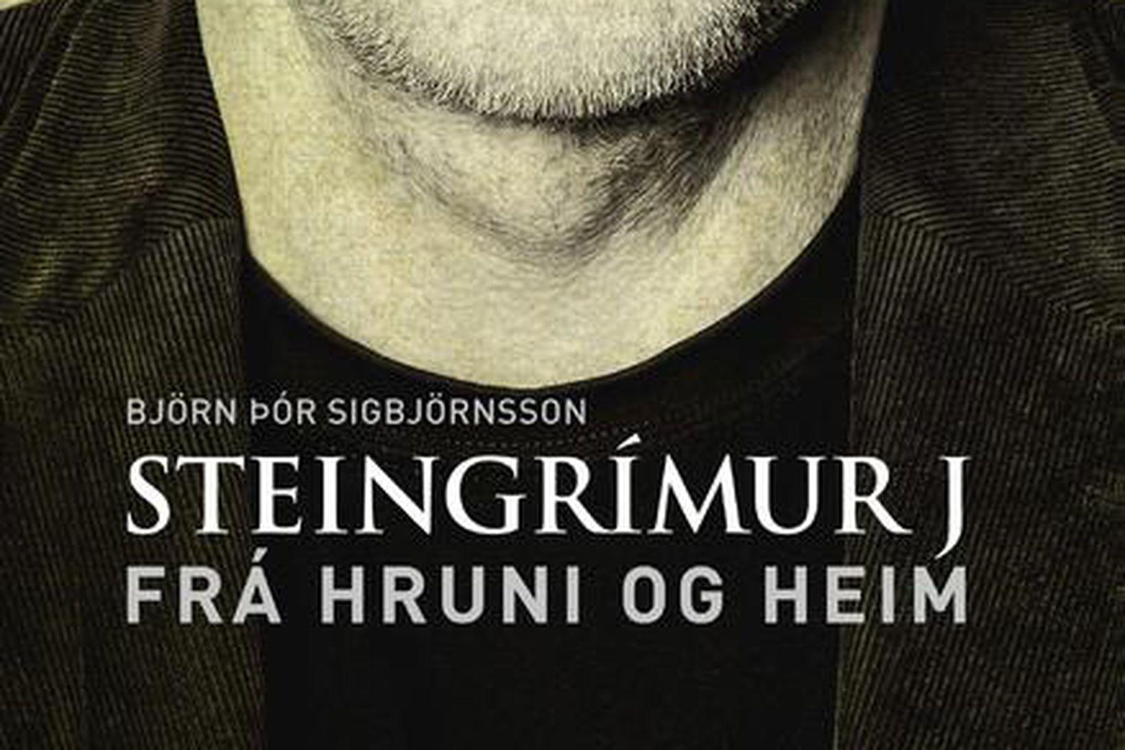 Kápa bókarinnar Steingrímur J. - Frá hruni og heim.