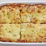 Lúxus-lasagna með parmesan- og kotasælufyllingu