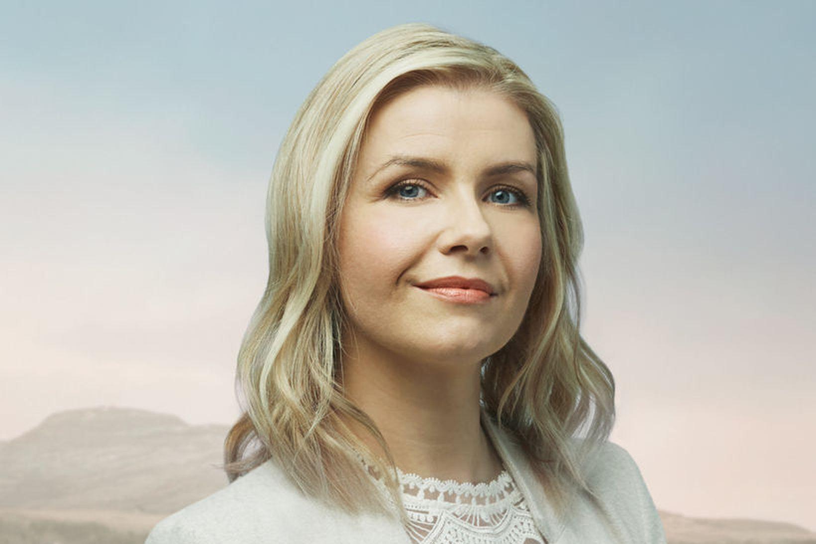 Helga Arnardóttir er umsjónarmaður þáttanna Lifum lengur sem sýndir eru …