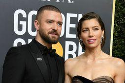 Jessica Biel og Justin Timberlake.